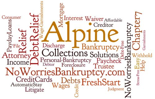 Alpine bankruptcy attorney