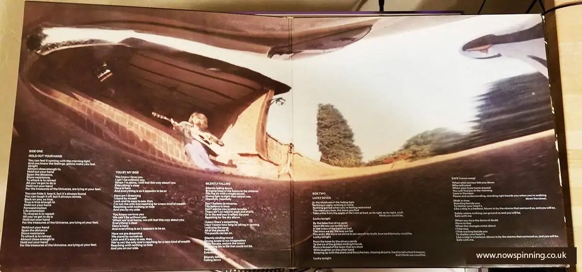 Chris Squire Solo Album gatefold sleeve