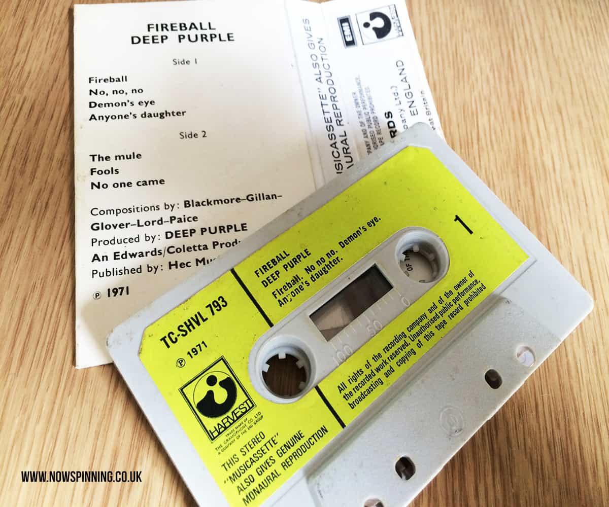 Deep Purple Fireball Cassette