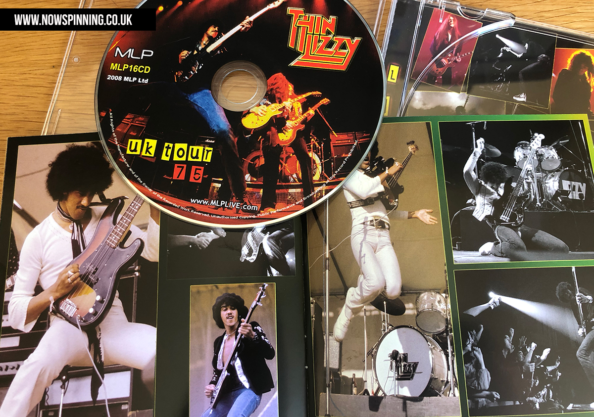 Thin Lizzy UK Tour 1975 review from Now Spinning