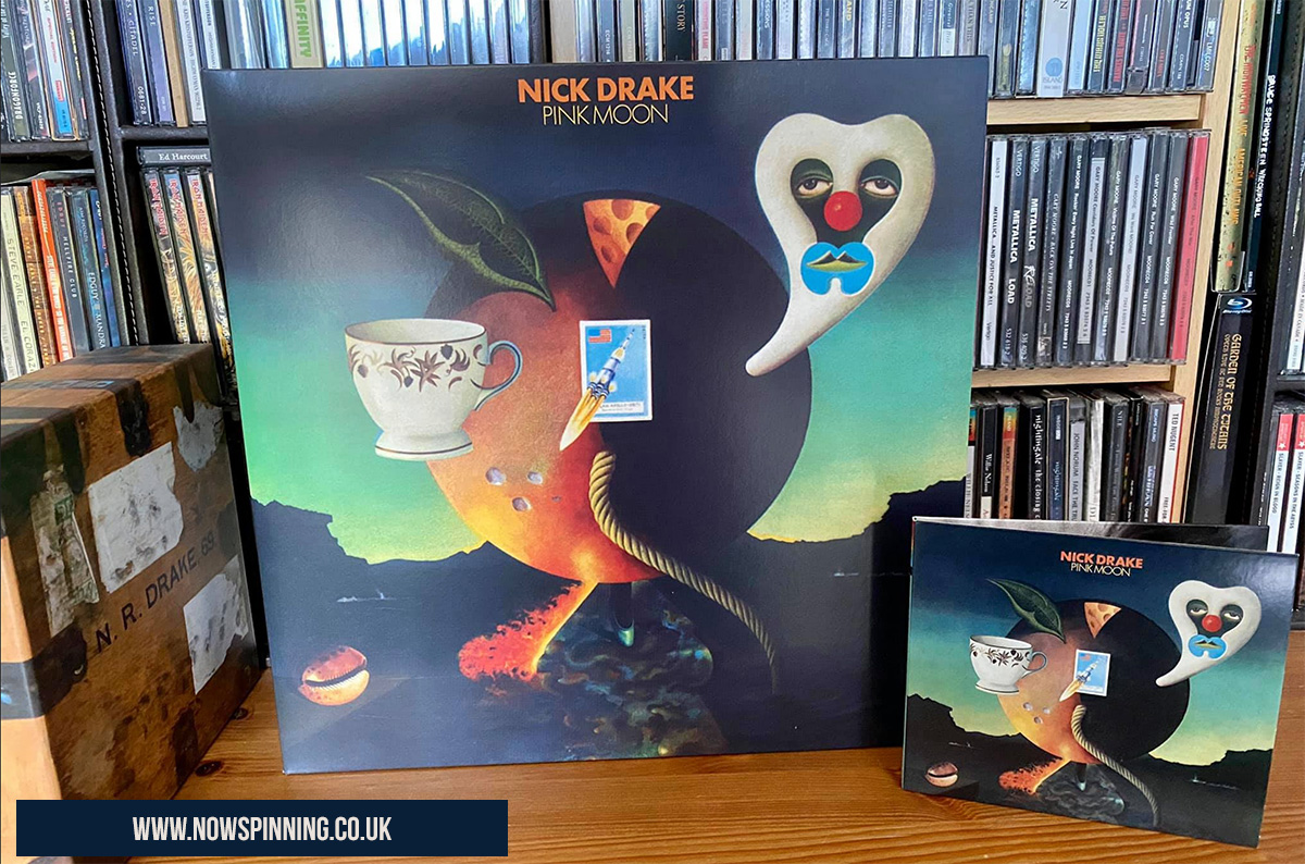 Pink Moon Vinyl and CD by Nick Drake