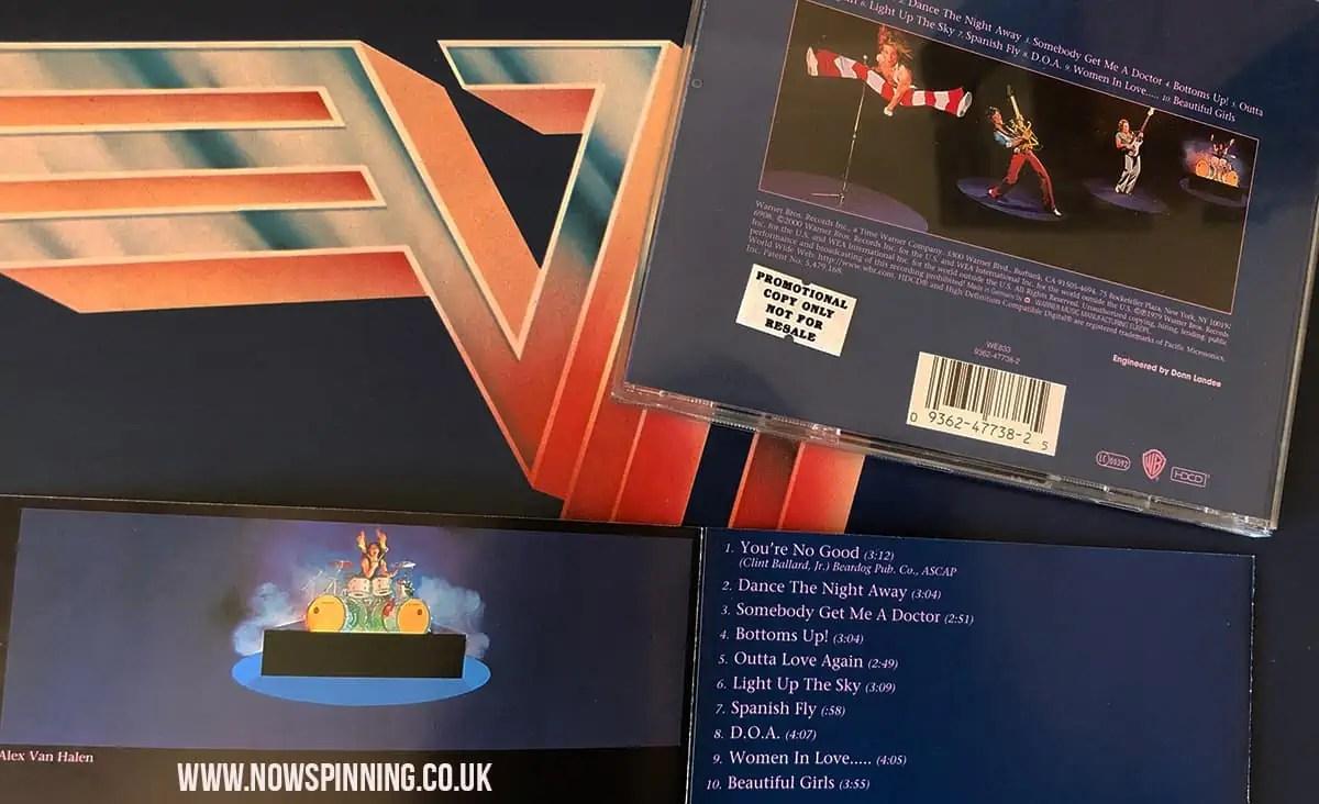Van Halen 2 CD Remaster