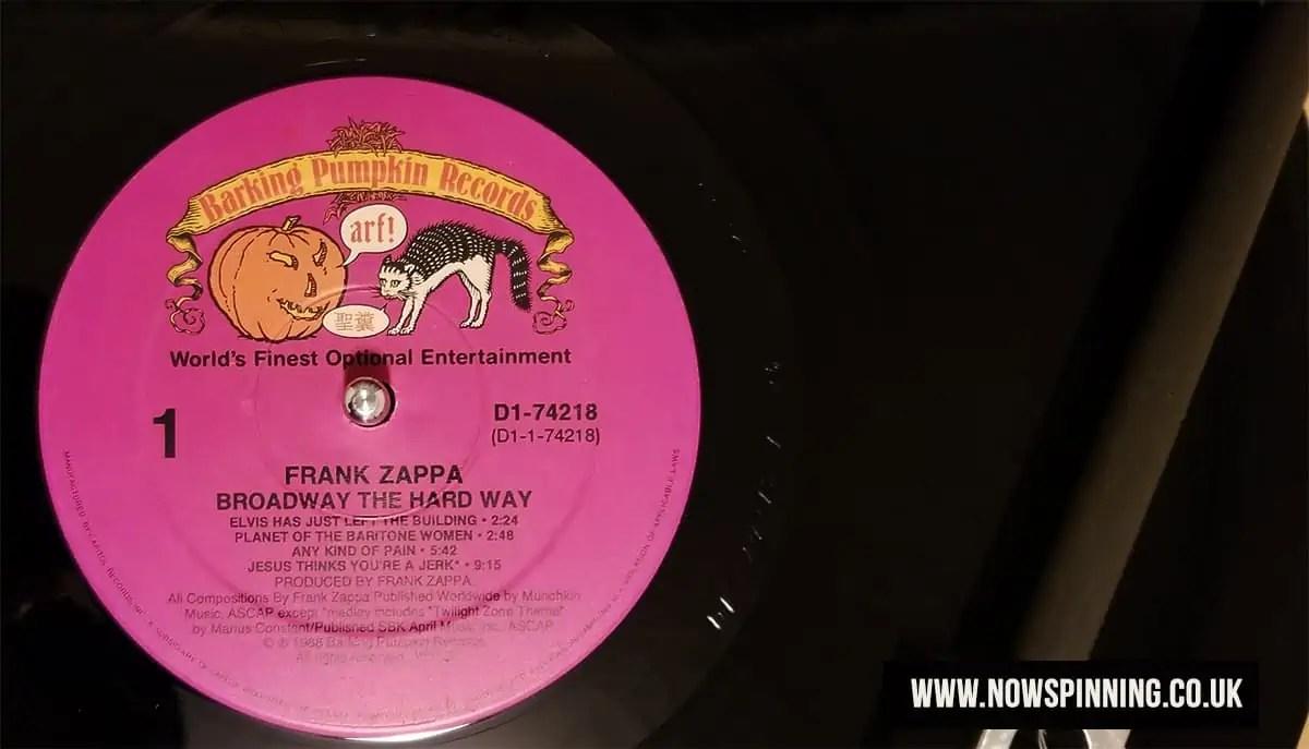 Frank Zappa - Broadway The Hard Way vinyl