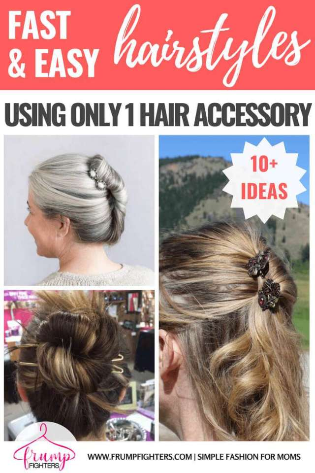 10 easy, fast, & feminine hairstyles for moms (5 minutes or