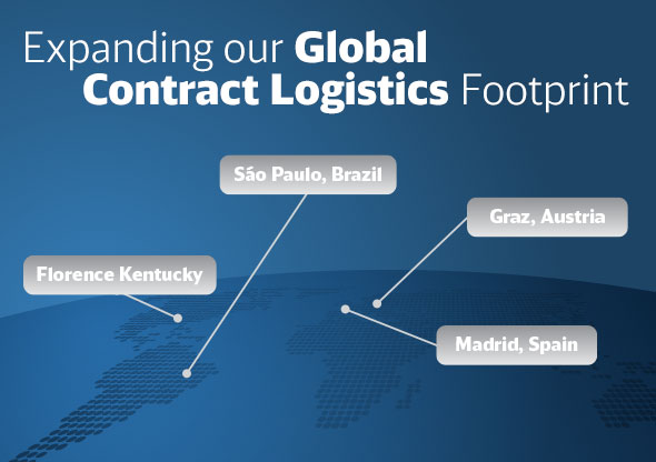 New Contract Logistics Locations