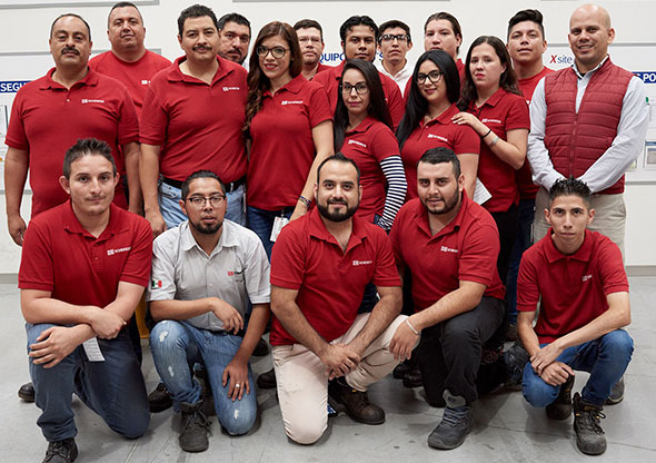 DB Schenker Mexico Logistics Team in Guadalajara
