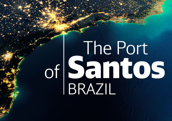 The Port of Santos Brazil