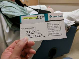 I got a husband claim card and tracking number!