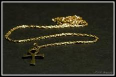 air ankh necklace