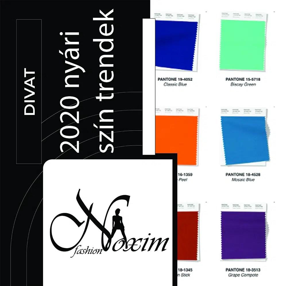 Fashion blog - trend színek