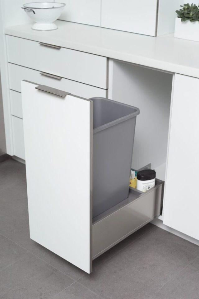 Mülleimer Küche Ikea Vinyl Waschbecken Eckunterschrank ...