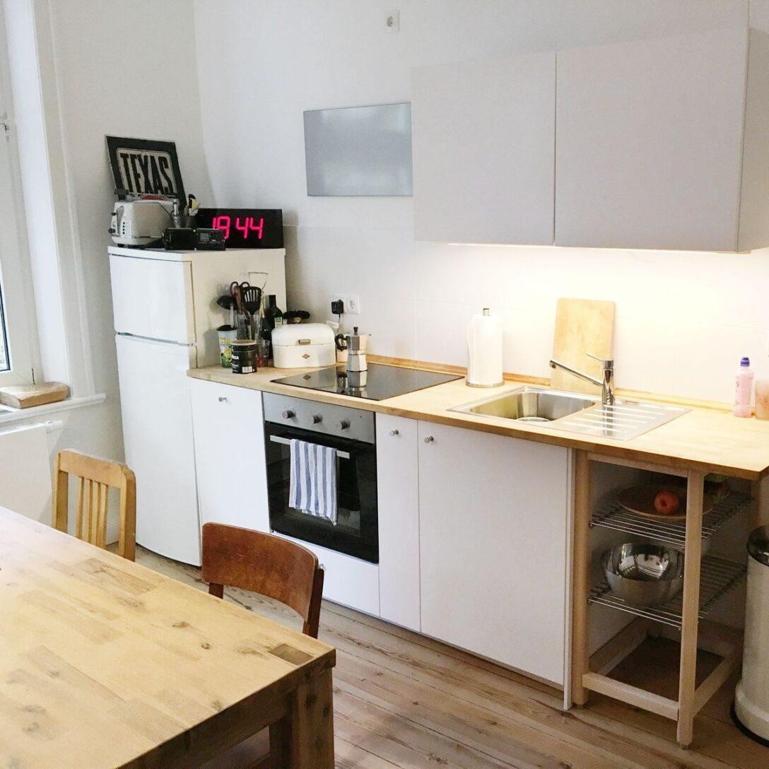 Ikea Singleküche   Kche Eckschrank Klein Aber Fein Kochfeld Im Ikea Diy
