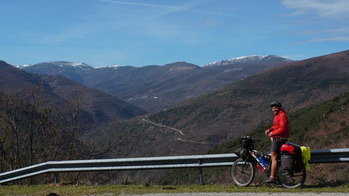 Zeitungsbericht über meine Radreise von Porto über Wien nach Waldmünchen