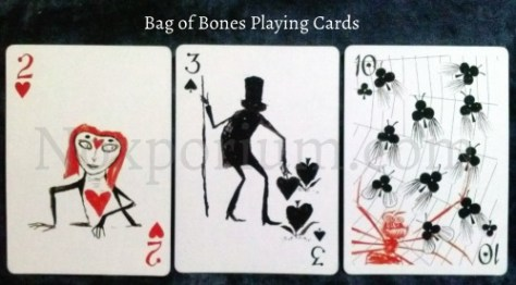 Bag of Bones: 2 of Hearts, 3 of Spades, & 10 of Clubs.