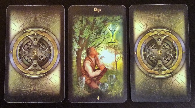 Legacy of the Divine: 4 of Cups.