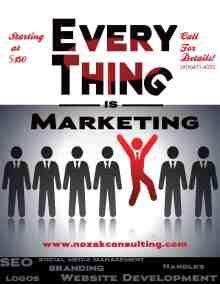 Nozak - Everything is Marketing