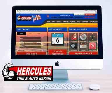 imac screen Herc Logo