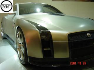 GT-Rコンセプト2001年発表