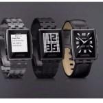 Smartwatchの雄 #Pebble がAppstore開始, 新製品Pebble Steelを発表