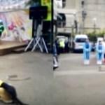 警察犬・白バイ登場、年末年始防犯
