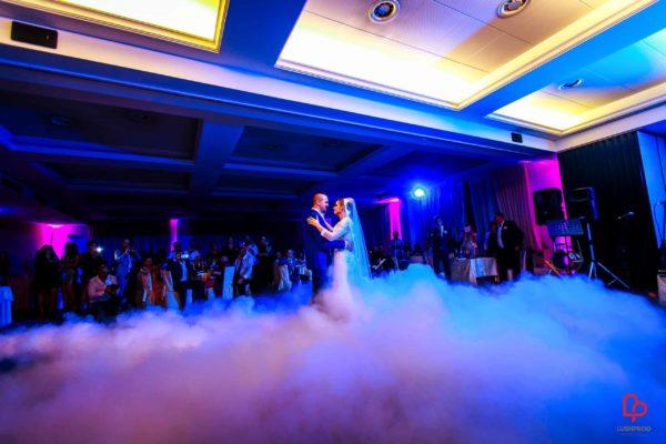 fumo pesante matrimonio primo ballo sposi