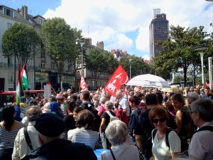 Manifestation du 2 août à Nantes