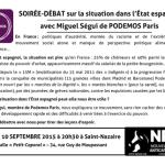 podemos saint nazaire 10 septembre 2015 Miguel Ségui NPA image