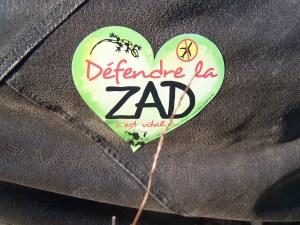 La Zad au coeur  (manifestation du 8 octobre 2016 sur la Zad)