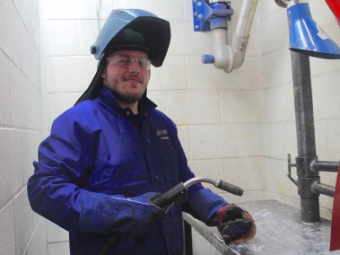 Pipe Dreams Pre-Apprenticeship Welding Program