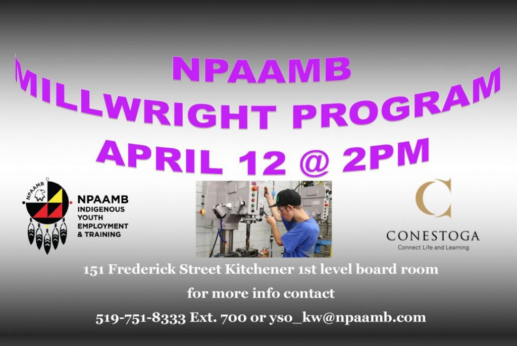 Millwright Program Info Session April 12