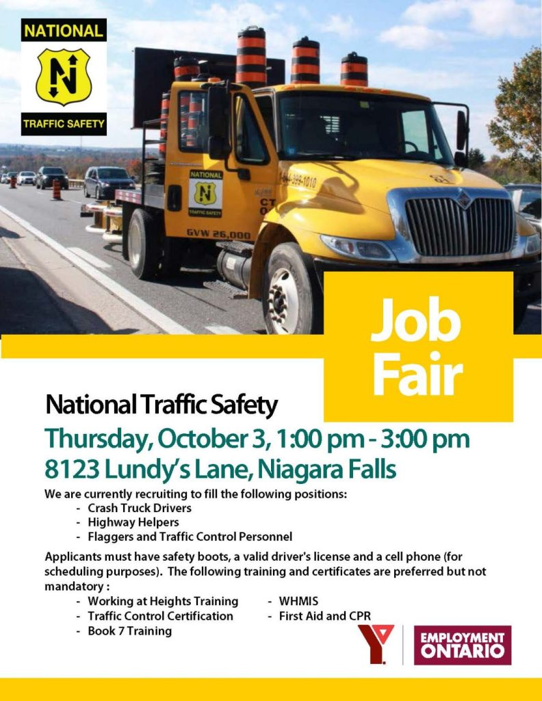 National Traffic Safety Job Fair