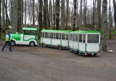 Turistički vozići – Nova turističko-edukativna ponuda u NP Biogradska gora