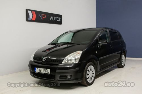 small resolution of toyota corolla verso d 4d 2 2 100 kw