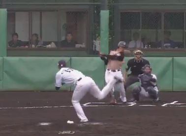 清宮幸太郎、ファーム単独トップ7号ホームラン
