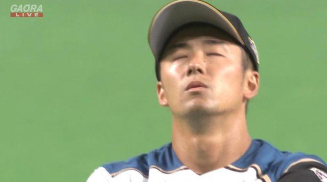 【終わり】斎藤佑樹さん、阪神打線を4回104球 被安打8 四球5 失点7に抑えこむ力投