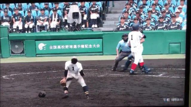 【朗報】 創志学園・西投手、審判に注意されてもガッツポーズをやめない