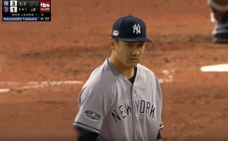 【朗報】惑星最高の投手・田中将大、5回1失点の好投でヤンキース勝利