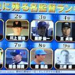 【悲報】球史に残る名監督ランキングに王・長嶋がランクインwwwwwwww