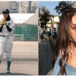 【画像】モデル竹本萌瑛子の野球少女時代が可愛い過ぎるwwwwww