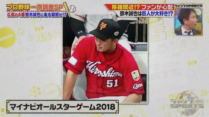 【悲報】広島・鈴木誠也、2022年にFAで巨人へ移籍がほぼ確定的・・・