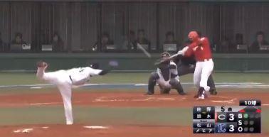 【動画】鈴木誠也、オープン戦1号ホームランが逆方向にぶち込む