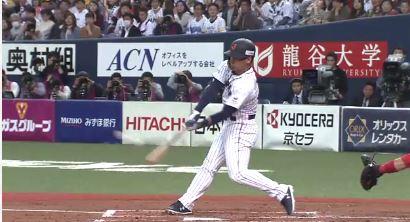 【GIF】日本の4番、オリックス吉田正尚の満塁ホームランで侍ジャパン4-0