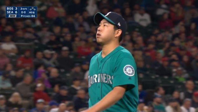 【朗報】マリナーズ菊池雄星、6回5奪三振4被安打3失点2被本塁打0四死球