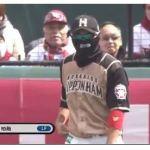 日本ハム王柏融(髙山俊) .259(297-77) 3本 35点 出塁率.324 OPS.658