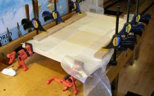 Keystick Boards Glue Up