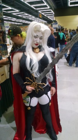 Lady Death in all her glory.