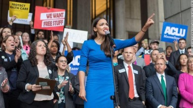 Photo of Alexandria Ocasio-Cortez IS the Blue Wave that threatens Trump and all Conservatives