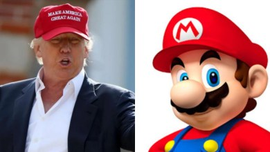 Photo of Nintendo facing backlash for Mario's signature hat resembling a MAGA hat. Should they change it?
