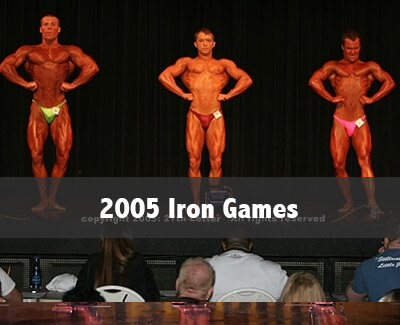 2005 Iron Games photo gallery for npc oklahoma