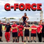 gina and her clients of g-force training